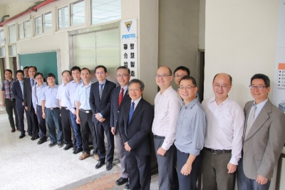 "National Central University Launches the First Industry 4.0 ""FESTO Smart Factory"" in Taiwan"